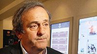 Prezident Evropské fotbalové unie (UEFA) Michel Platini.