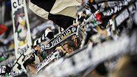 Fanoušci Juventusu Turín.