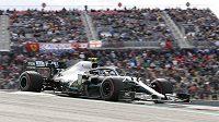 Kvalifikaci na Velkou cenu USA F1 vyhrál Valtteri Bottas.