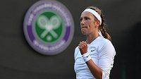 Viktoria Azarenková na letošním Wimbledonu.