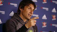Manažer Chelsea Antonio Conte se těší na ledovou lázeň.