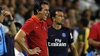 Unai Emery, trenér Paris St. Germain, se dočkal další posily.