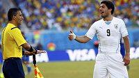 Skvělý, ale i problémový útočník - takový je Luis Suárez.
