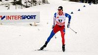 Martin Jakš při závodu na 15 km volně na MS ve Falunu.