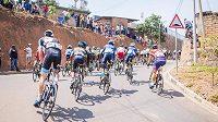 Silniční cyklistický závod - ilustrační foto.