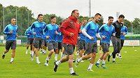 Fotbalisté plzeňské Viktorie zahájili v Plzni pod vedením trenéra Romana Pivarníka přípravu na novou sezónu.