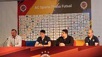 Futsalová Sparta měla na startu nové sezóny nejvyšší ambice. Teď je začíná naplňovat, postoupila do finále pohárové soutěže-