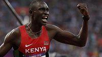 Ve světovém rekordu 1:40,91 min si doběhl pro olympijské zlato na půlce největší favorit Keňan David Rudisha
