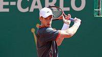 Skotský tenista Andy Murray na turnaji v Monte Carlu