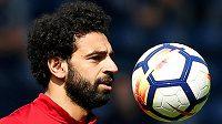 Útočník Liverpoolu Mohamed Salah.