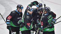 Hokejisté Mladé Boleslavi se radují. Vyhráli na ledě mistra (ilustrační foto)