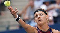 Lucie Šafářová v osmifinále US Open.