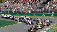 Australská Grand Prix v Melbourne na archivním snímku z roku 2018.