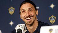 Zlatan Ibrahimovic už střílí góly za Los Angeles Galaxy.