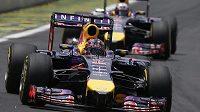 Monoposty formule jedna stáje Red Bull.