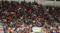 Zaplněná Budvar aréna sledovala první přátelský zápas hokejistů HC Motor České Budějovice proti Kladnu.