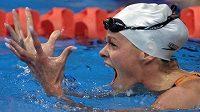 Olympijská vítězka v plavání Inge de Bruijnová ozdobí televizní reality show.