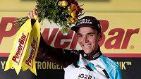 Vítěz 12. etapy Tour de France, domácí Romain Bardet.