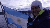 Lyžařka Šárka Záhrobská se připravuje na novou sezónu v argentinském středisku Ushuaia.