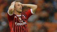 Antonio Cassano, útočník AC Milán a italské reprezentace