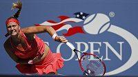 Petra Kvitová už je na US Open v osmifinále.