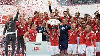 Fotbalisté Bayernu Mnichov dál vládnou bundeslize.
