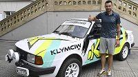 Ondřej Klymčiw plánuje absolvovat Rallye Dkakar za volantem historické Škody 130 LR.