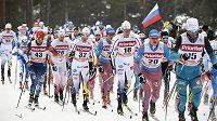 Běžci na lyžích v závodech SP ve švédském Falunu - ilustrační foto.