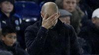 Pep Guardiola by zápas proti Leicesteru asi nejradši neviděl.