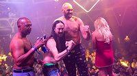 Fury slavil v nočním klubu v Las Vegas.