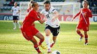 Utkání fotbalistek Anglie a Ruska - ilustrační foto