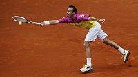 Radek Štěpánek v Madridu nestačil na Rogera Federera