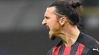 Zlatan Ibrahimovic potvrzuje v AC Milán i v 39 letech pověst kanonýra.