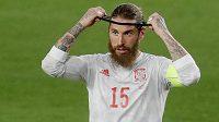 Španělský fotbalový reprezentant Sergio Ramos se stejně jako spoluhráči po remíze s Řeckem zlobil, že se v kvalifikaci o MS 2022 nepoužívá video.