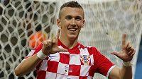 Mezi chorvatské střelce v utkání s Kamerunem se zapsal i Ivan Perišič.