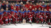 Hokejisté Ruska získali na domácím MS bronzové medaile.