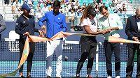 Naomi Ósakaová, Novak Djokovič, Serena Williamsová a Roger Federer.