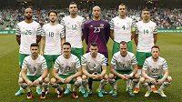 Fotbalisté Irska před přípravným zápasem s Nizozemskem.