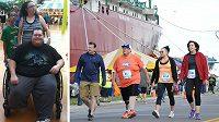 Brian Naykki strávil více než šest let na invalidním vozíku, přesto začal běhat.