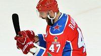 Alexandr Radulov se dodatečně raduje z vítězství v kanadském bodování KHL.