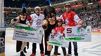 Hokejová extraliga v 50. kole překonala hranicí dvou milionů diváků.