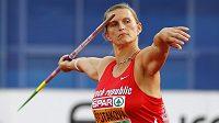 Oštěpařka Barbora Špotáková se medaile na atletickém ME v Amsterdamu nedočkala.