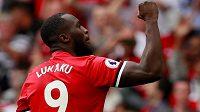 Lukaku dal při ligovém debutu za Manchester dva góly West Hamu.