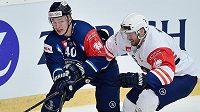 V semifinále hokejové Ligy mistrů nastoupil za Bílé Tygry Liberec i útočník Lukáš Jašek.