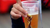 Ilustrační fotografie kelímku s pivem.
