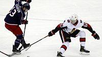 Hokejisty Ottawy posílí český útočník Filip Chlapík. Senátoři jej po sedmi týdnech povolali z farmy z Belleville, kde hrál nižší AHL (ilustrační foto)