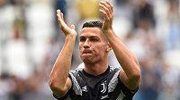 Cristiano Ronaldo startuje s Juventusem misi za triumfem v Lize mistrů ve Valencii.