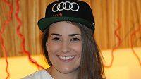 Skikrosařka Andrea Zemanová by se neztratila ani ve světě modelingu.