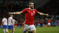 Hvězda velšského výběru Gareth Bale se trefila i ve třetím utkání na ME.