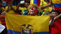 Fanoušci Chile na světovém šampionátu v Brazílii.